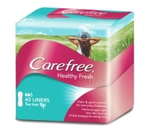 CAREFREE® HEALTHY FRESH Liners