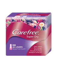 Carefree® Super Dry Panty Liners