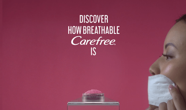 You Know How Breathable Carefree is?